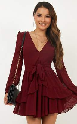 Showpo For a Rainy Day dress in wine - 8 (S) Dresses