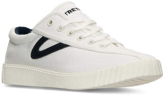 Tretorn Women's Nylite 2 Plus Casual Sneakers from Finish Line $84.99 thestylecure.com