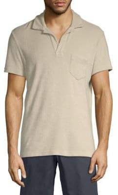 Orlebar Brown Terry Cotton Polo