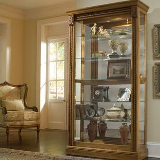 Astoria Grand Dunstaffnage Lighted Curio Cabinet