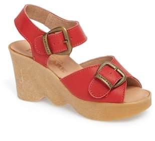 Famolare Double Vision Wedge Sandal