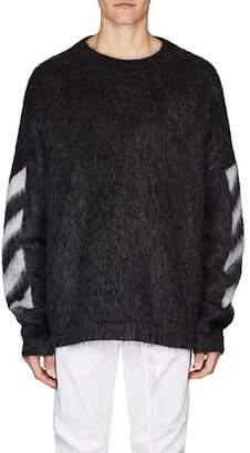 Off-White Men's Mohair-Blend Oversized Sweater