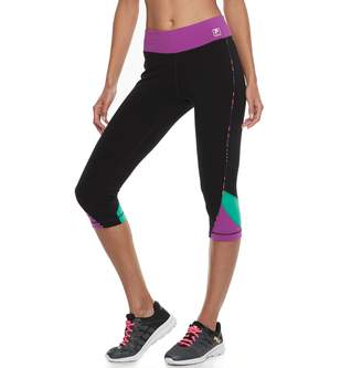 Fila Sport Women's SPORT Colorblocked Capri Leggings