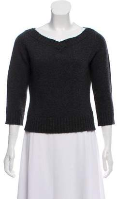 Max Mara Cashmere V-Neck Sweater