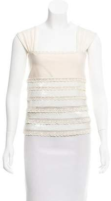 Valentino Embellished Sleeveless Top w/ Tags