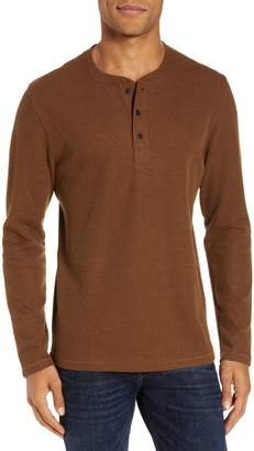 Billy Reid Ribbed Long Sleeve Henley