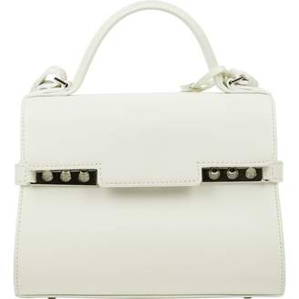 Delvaux White Leather Handbags