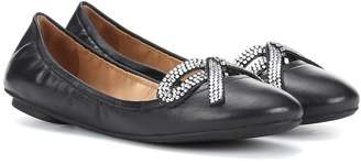 Marc Jacobs Willa Bow leather ballerinas