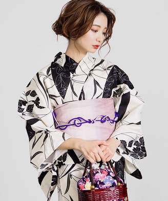 titivate (ティティベイト) - 古典柄綿麻単品浴衣