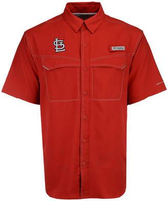Columbia Men's St. Louis Cardinals Low Drag Short Sleeve Shirt