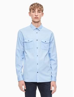 Calvin Klein regular fit bedford cord shirt