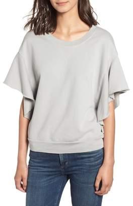 Stateside Ruffle Sweatshirt