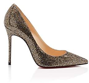 Christian Louboutin Women's Decolette Glitter Pumps