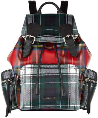 Burberry Large Patchwork Tartan Backpack