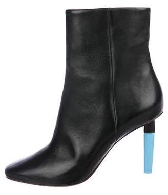 Vetements Leather Ankle Boots w/ Tags