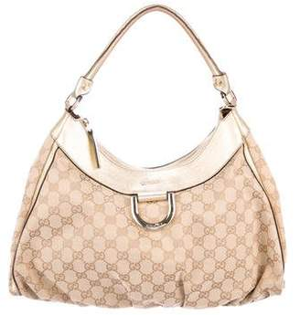 Gucci Large GG D-Ring Hobo