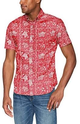 Reyn Spooner Men's Lahaina Sailor Kloth Tailored Fit Hawaiian Shirt