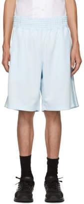 Comme des Garcons Blue Balloon Shorts