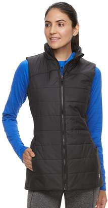 Fila Sport Women's SPORT Stretch Side Panel Puffer Vest