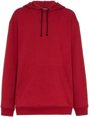 Calvin Klein embroidered text hoodie