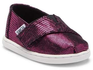 Toms Classic Distressed Alpargato Slip-On Sneaker (Baby, Toddler, Little Kid)