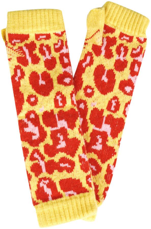 Christopher Kane Fingerless cashmere gloves