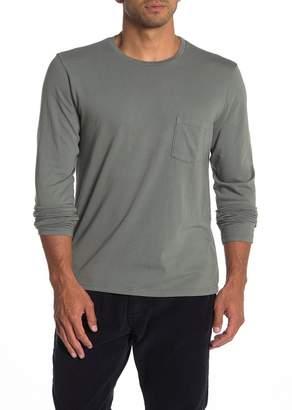 Save Khaki Heavy Supima Jersey Pocket Long Sleeve T-Shirt