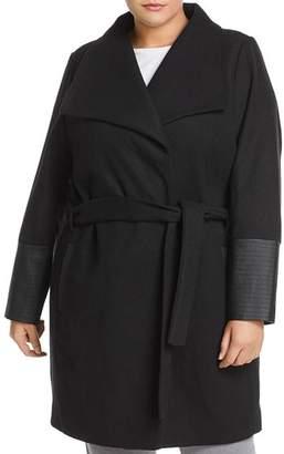 Junarose Plus Calla Wrap Coat