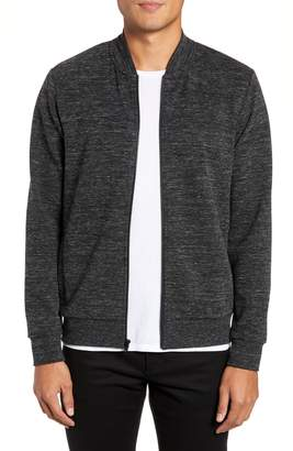 Calibrate Stretch Knit Bomber Jacket