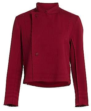 Issey Miyake Women's Le Pain A Poc Cropped Jacket