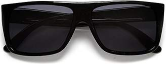 Unknown Classic Old School Eazy E Square Flat Top OG Locs Dark Lens Sunglasses