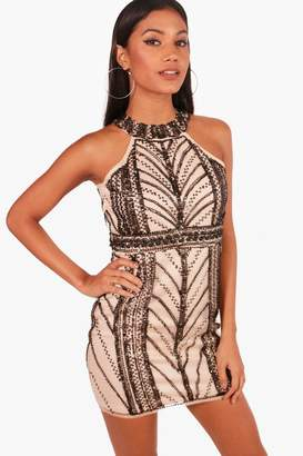 boohoo Boutique Embellished Bodycon Dress