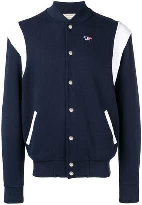 MAISON KITSUNÉ two-tone bomber jacket