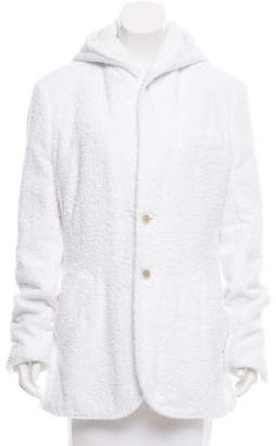 Caruso Terry Cloth Hooded Jacket