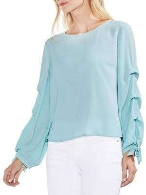 Vince Camuto Tiered-Sleeve Blouse
