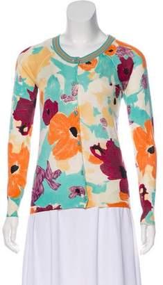 Missoni Silk Floral Cardigan