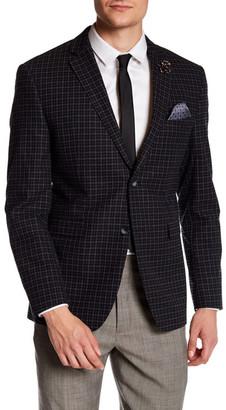 Original Penguin Two Button Notch Collar Wool Sport Coat $398 thestylecure.com