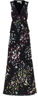 Chloé Fil coupe silk maxi dress