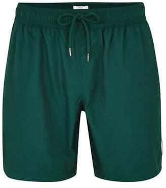 Topman Mens Green Teal Board Shorts