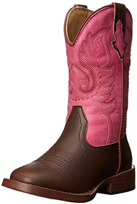 Roper Texsis Square Toe Cowgirl Boot (Toddler/Little Kid)