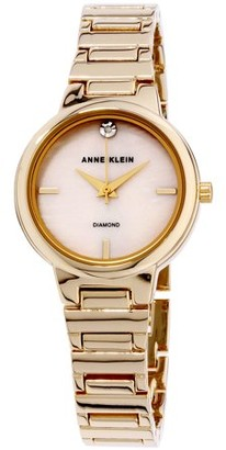 Anne Klein Mother of Pearl Dial Stainless Steel Ladies Watch AK2440PMGB