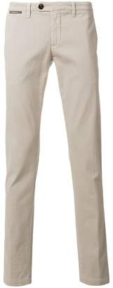 Eleventy classic slim-fit trousers