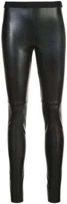 Marc Cain leather-look leggings