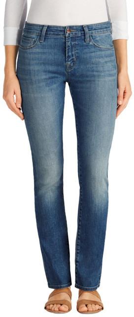 J BrandJ Brand Amelia Straight Leg Jeans (Elusive)