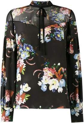 Erdem Yuki floral print blouse