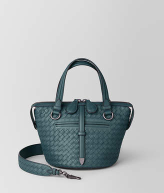 Bottega Veneta SMALL TAMBURA BAG IN INTRECCIATO NAPPA
