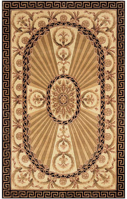 Momeni Elizabeth Hand-Carved Wool Rectangular Rug
