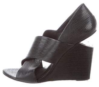 Alexander Wang Ida Cutout Wedges