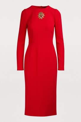 Dolce & Gabbana Heart midi dress