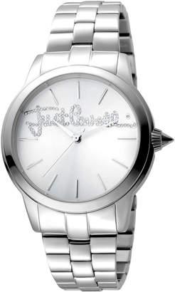 Just Cavalli 36mm Logo Watch w/ Bracelet, Steel